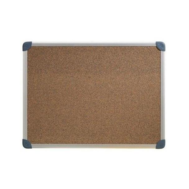 Quartet Penrite Corkboard Aluminium Frame 450x600mm S/L X CARTON of 4 QTC0456R