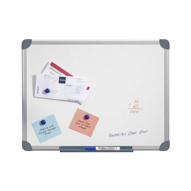 Quartet Whiteboard S/Line Magnetic 900x1200mm QTMG1209R