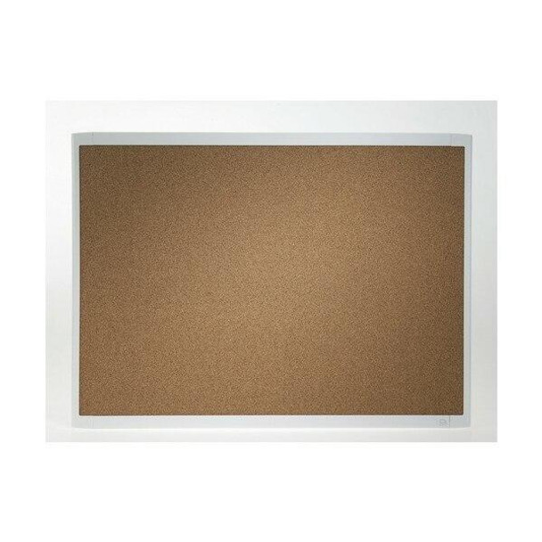 Quartet Corkboard White Frame 430x580mm X CARTON of 4 QTMHOB1723