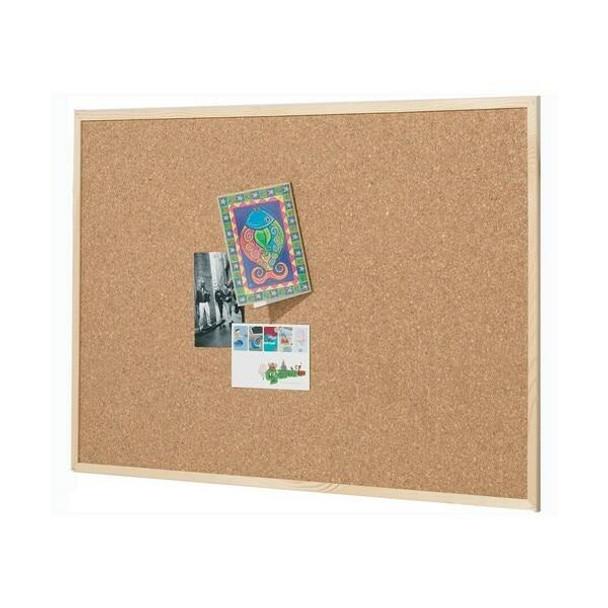 Quartet Corkboard Pine Frame 450x600mm QTNNCE0456