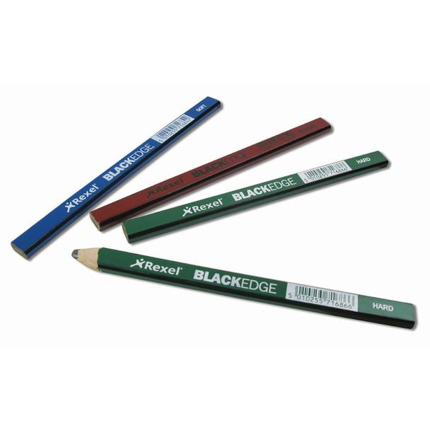 Rexel Carpenter Pencils MediumBox72 R34322
