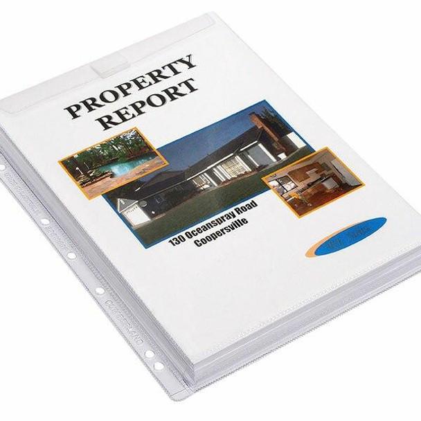 CUMBERLAND Sheet Protectors 200mic A4 Clear Pvc Pack10 SP6138GF