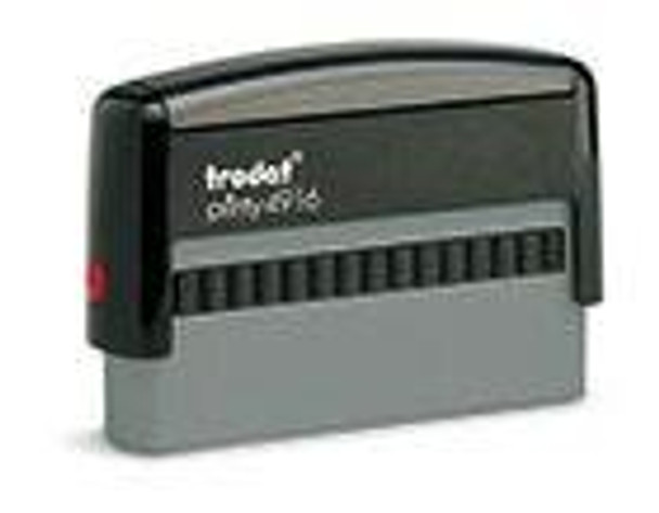 TRODAT 4916 PRINTY RUBBER ONLY SIZE 7 PRR4916