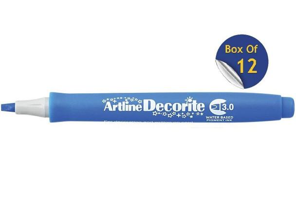 Artline Decorite Standard 3.0 Blue BOX12 140303