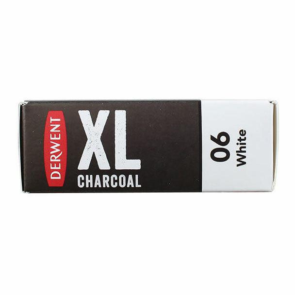DERWENT Charcoal Blocks Xl White X CARTON of 4 2302016