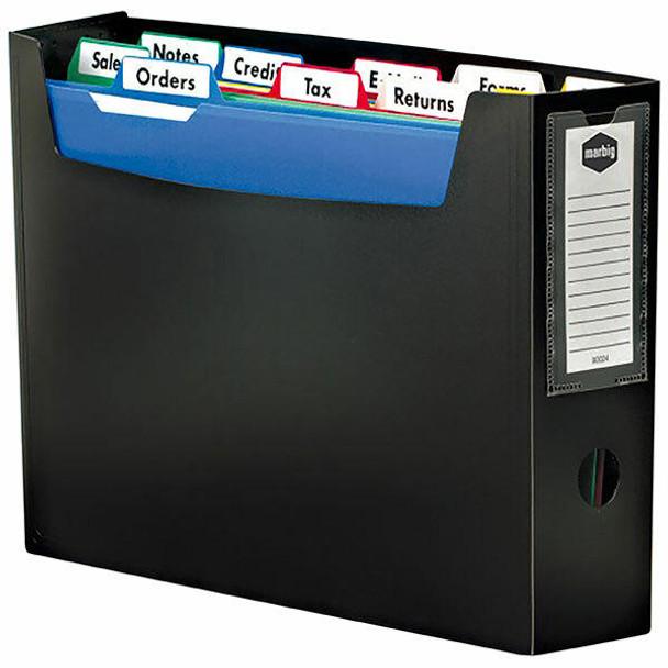 Marbig Portable Organiser A4 Black 9002402