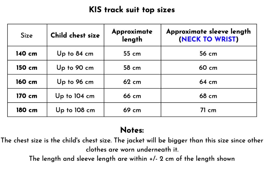 KIS track suit top