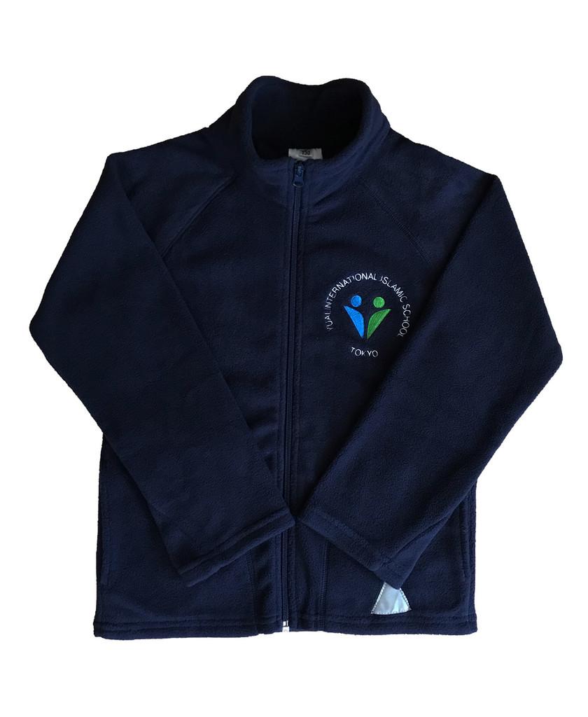 Yuai navy fleece
