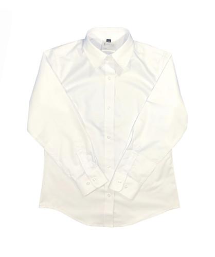 Girls white long-sleeved shirt