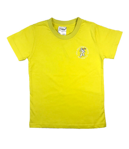 BST Primary residential T shirt; yellow