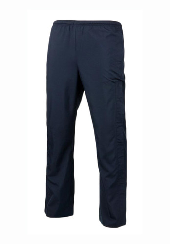 Navy windproof track trousers