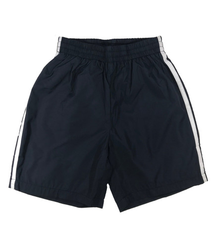 Navy blue sports shorts