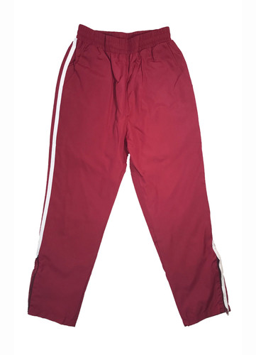 Red track suit trousers