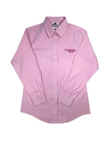 International Ballet High School girls pink shirt
