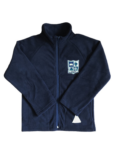 IQRA navy fleece