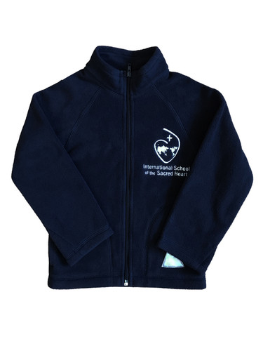 ISSH navy fleece