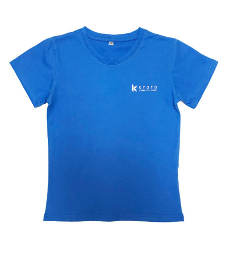 KIS pale blue T shirt - discontinued - only large sizes available
