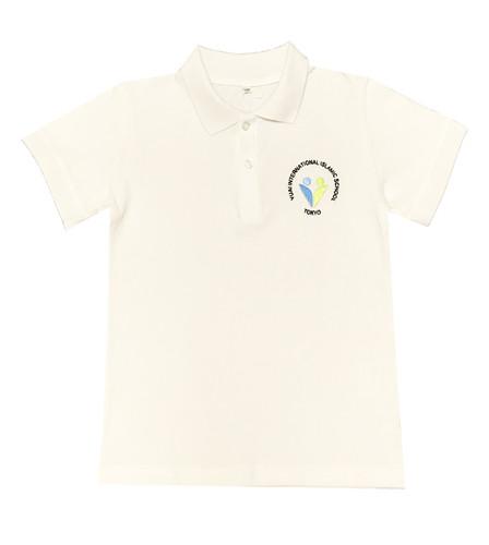 Yuai white polo shirt