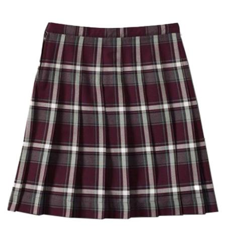 International Ballet High School tartan skirt
