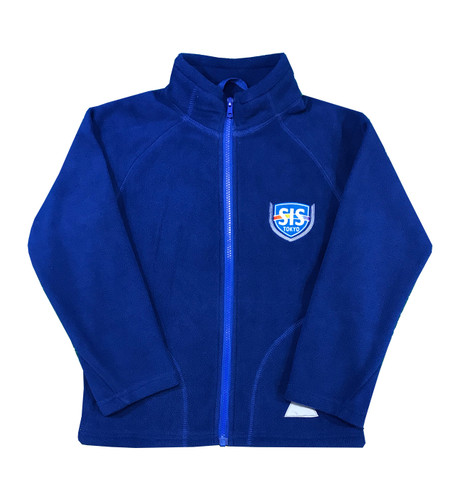 SIS royal blue fleece