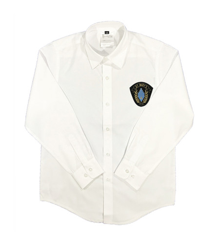 St. Mary's long-sleeved button-down shirt