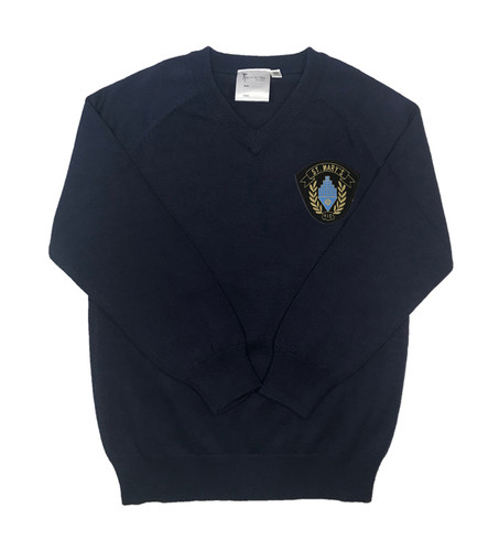St. Mary's V-necked jumper