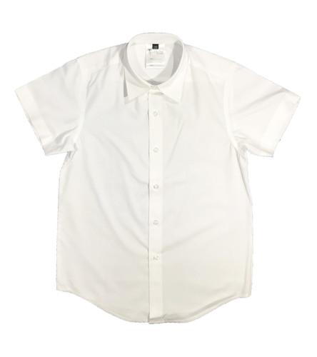 Boys white short-sleeved shirt