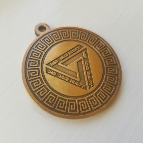 The Ganden Celestial World Amulet