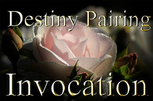 Th y d n a    R a c h a n v o    G e n d a v a   A l t a g n a   Z a c h o r                                                                                                                        The Destiny Pairing Invocation     This recording is intended to join together the forces of the universe that create twin souls. Most of us never find our twin flame, but this recording will help you work with the energy of your twin soul even if you don't ever find the one. Destiny pairing is the process of conjoining the energy of your twin flame with your own.  Whether you ever meet that person or not, their energy is part of you.  When you use the destiny pairing invocation, you draw upon the energy of the universe that helped to create both of you. The power that you use in this pairing is massive, and each time that you tap into it, you increase the power within your soul.   The recording may be used in three ways. One, you may say it alone, with no help at all.  This helps you subconsciously tap into the energy of your divine mate and work with him/her. This process is automatic as you say the words with us on the recording. Two, you may repeat the recording with another person, any person. This helps you tap into the energy without necessarily working directly with your divine mate. Saying the words with another person helps you work with the energy of two souls, yours and theirs. This process kindles a divine fire that helps you both. The energy may be used to empower your rituals, magick, prayers, and meditations.   Three, you may repeat the invocation with your divine mate. A divine mate is a blessing. Finding one is very, very difficult.  There is a deep inner knowing that accompanies this discovery.  The love, companionship, finishing each other's thoughts, unconditional acceptance, and genuine friendship are only a few of the traits that bind true twin flames.  Repeating this invocation strengthens your divine power and love for all those around you. This is a true gift from the celestial world.   The invocation is recorded in B flat. This key empowers the energy of divine celestial work. It is one of the major keys of resonance in our domain and it helps the mind lock on to and hold the energy necessary to make change in your life.    Price: $19.95