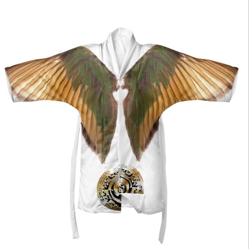 The Robe of the Healing Angels (Kimono Style)