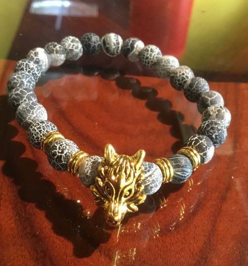 The Odin Wolf Bracelet