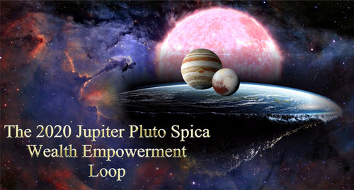 The 2020 Jupiter Pluto Spica Wealth Empowerment Loop