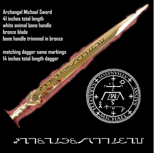 The Celestial Dagger of The Holy Archangel Michael