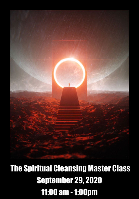 The Spiritual Cleansing Master Class (Virtual)