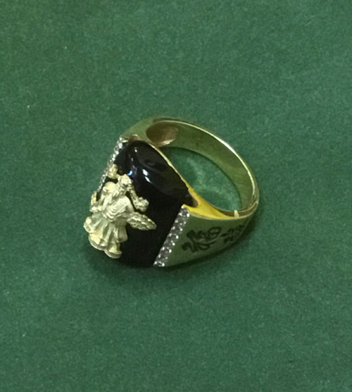 The Celestial God of Wealth - Jade Emperor Ring