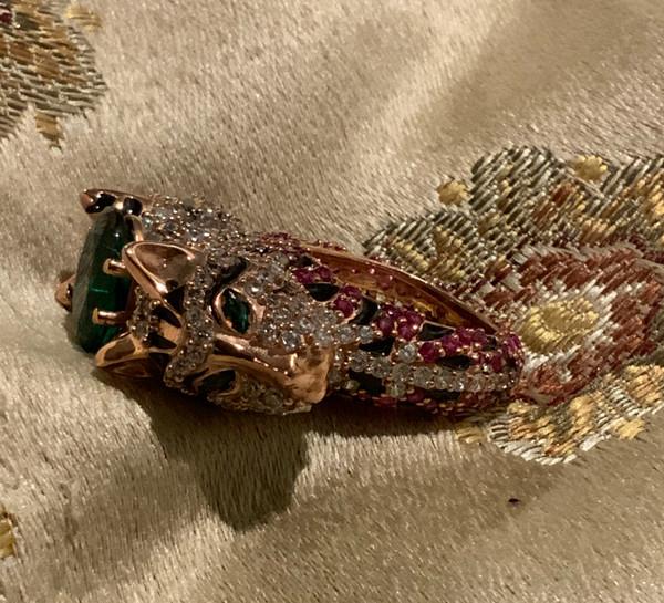 Ring of the Goddess Sekhmet