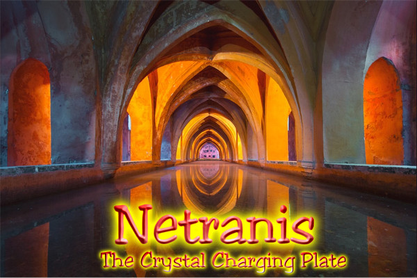 Netranis: The Crystal Charging and Cleansing Plate (8x10)