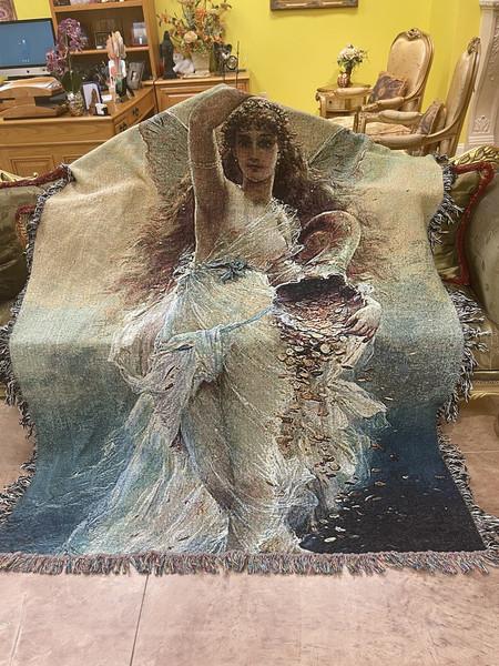 The Asteronium Blanket Series - The Goddess Fortuna Blanket