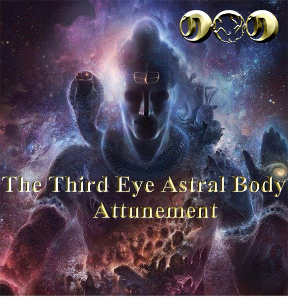 The Third Eye Astral Body Attunement     The third eye is the organ that we use everyday to see in dreams.  It is developed enough in most people so that they can see clearly in dreams, visions, and nightmares.  The third eye is shut down by the connection between the astral body and the physical body during the day.  This connecting circuit, the dream censor circuit, blocks incoming data from the astral body while the mind is awake in the physical world.  As a result, most people forget their dreams, visions, and nightmares upon waking.   The astral body functions while we are awake.  It continues to monitor dreams, visions, and nightmares, which also continue while we are awake.  The Third Eye Astral Body Attunement allows the astral senses and the physical senses to work well together so that the user can begin to see within the dream state more clearly.  Also, dreams and visions are enhanced while you are awake to that you can communicate with your astral self more easily. The attunement blocks out the energy of nightmares so that dreams and visions may be seen safely. When the third eye opens safely, you can use your astral vision with your physical eyes.     Play the sound for one hour while you sleep and then turn it off.  The mind will do the rest of the work.  You may also play it during the day for further enhancement.  With time, your astral/clairvoyant vision will improve and open safely.   If you have the Third Eye Medallion, place it under your pillow while you sleep and it will enhance the function of the attunement.  You will see your ancestors, the gods, elementals, and me more clearly as you sleep.  I look forward to seeing you mature.   Price: $19.95