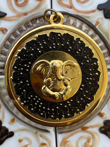 The Lord Ganesha: The Lord of Light Medallion