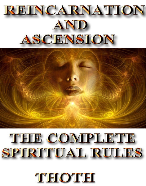 REINCARNATION AND ASCENSION                                                                                                                         THE COMPLETE RULES      Over 75% of the world's population believes in reincarnation.  Many people also believe that the soul can rise to a higher station in its existence if one makes the right choices in life. Others believe that the soul can descend to a lower state of existence if one repeatedly makes the wrong choices.  In ancient times, many cultures prepared the mind, body, and soul for their existence in another life while one still lived on earth.  In modern times, our focus rests squarely on surviving, paying the bills, and living from day to day. We no longer place a premium on life in the next world or how we can improve our existence here.   Life here is important, but life in the larger more eternal sense of the word is far more important.   There is a system through which our lives in this world are judged. Every action, every thought, and every choice are judged and recorded by a vast system of beings that ultimately determine the fate of your soul.  How you live, how you love, how you hate, how you forgive, how you die are all real events that have an impact on your soul.    The time of year that one dies, the time of day, the month, the hour, the circumstances all make a difference as to how one is handled in the next world.  The rules and regulations that apply to the soul are numerous and we all are affected by them.  Violent deaths are judged differently than quiet peaceful deaths.  Lives spent in service to others are judged differently than other lives.  Deaths occurring in young people are reviewed differently than those in older bodies.  Saving the lives of others helps tremendously in the evolution and ascension of a soul.  Diligent work with the spiritual forces and tools available to a soul helps in the assessment for the readiness of ascension.    In this text, you will not receive spells, si