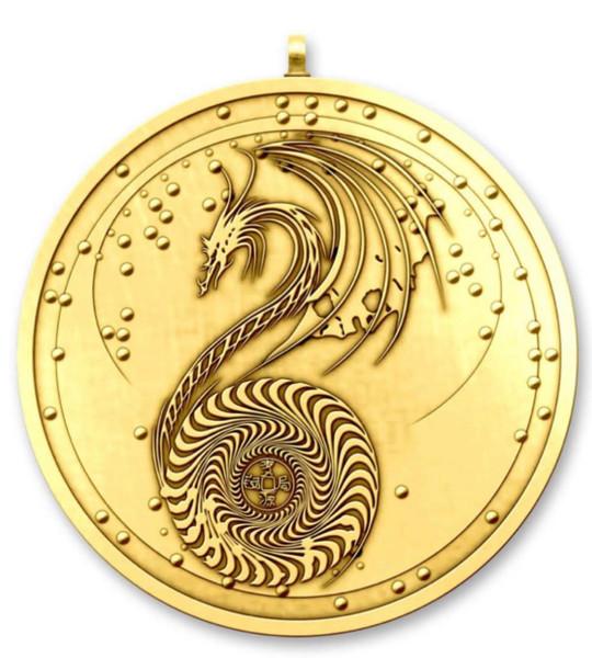 The Jade Emperor Medallion (Gold Edition)