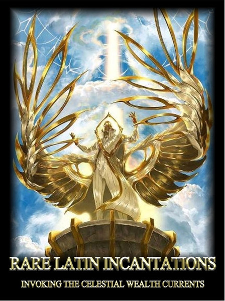 Rare Latin Incantations                                                                                          Invoking The Celestial Wealth Currents    Magic is the ability to communicate with the higher forces of creation. Humans have always sought to commune with the forces that created them. They have always wanted to rise above suffering, disease, pain, and the weaknesses of our existence, Humans have always known that reality is something more than what is seen. Magic allows us a way to get more out of life much more efficiently than you could with simple human effort. Ironically, any true understanding of magic begins with an understanding of electricity, a very deep understanding of electricity.   The celestial currents that are formed by electricity in the air are ancient in nature. They have been with us forever. These currents may be connected on the earth plane by etheric markers called ley lines.  any people believe that a grid of earth energies circles the globe, connecting important and sacred sites such as Stonehenge, the Egyptian Pyramids, and the Great Wall of China.   The Celestial Currents have been mapped out and are the ultimate source of magical power.  When you learn how to use them you learn the secret to becoming a magus. The magus rides the currents of power into the higher worlds and manifests whatever they require. Each of the currents has a particular function and type of wealth that it likes to manifest.  We will introduce you to the most powerful of these currents.  Each current has a particular function, a meditative posture that allows you to tap into it, and an incantation that will allow you to summon its power.  We have never before revealed all of this information for these most powerful currents.    The ability to tap into a current is best used after an orgasm. It is not a necessity but the energy of orgasm elevates your magical incantation of currents many-fold.  Heed this advisory and you will see your magical work elevate