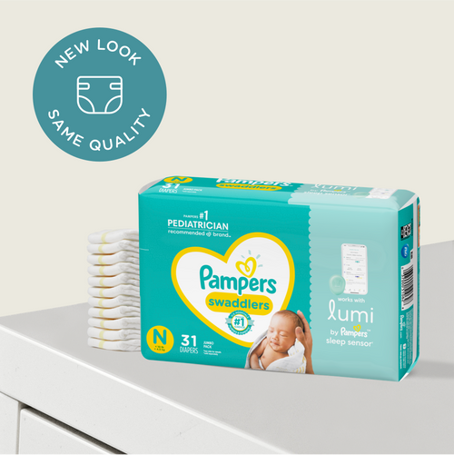 Swaddlers for Lumi by Pampers