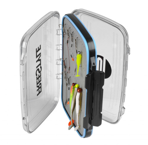 Spro Freestyle Rigged Boxes: Excellent double sided storage boxes from Spro. They are perfect for keeping everything from pre-rigged lures, stingers and jig heads all together in a neat and tidy presentation.