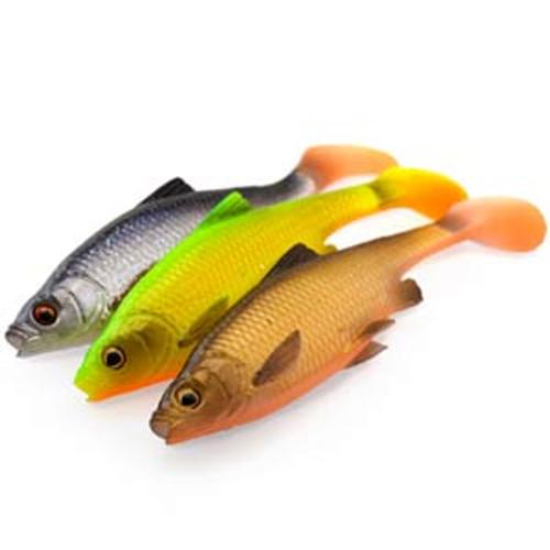 Savage Gear 3D Roach Paddle Tail Colour Set