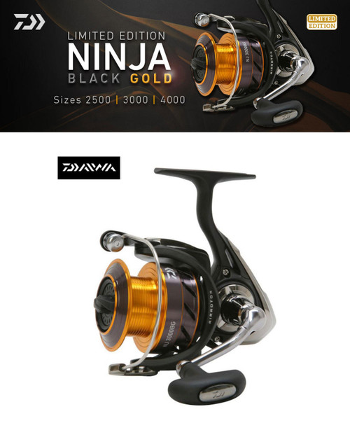 Daiwa Ninja Black & Gold Limited Edition