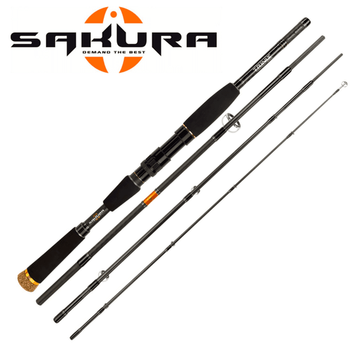 Sakura Trinis Travel Spinning Rods