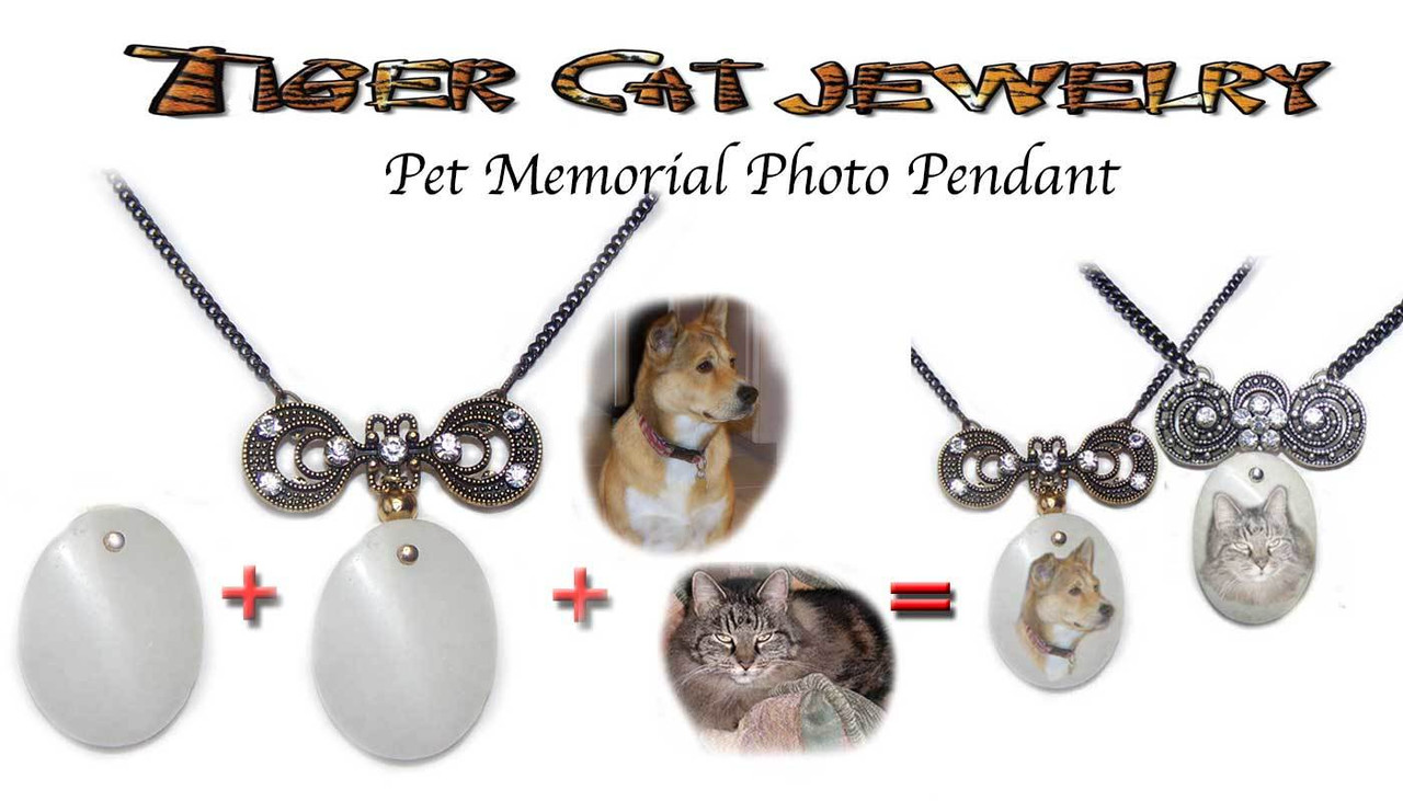 Pet Memorial - Photo Pendant Necklace