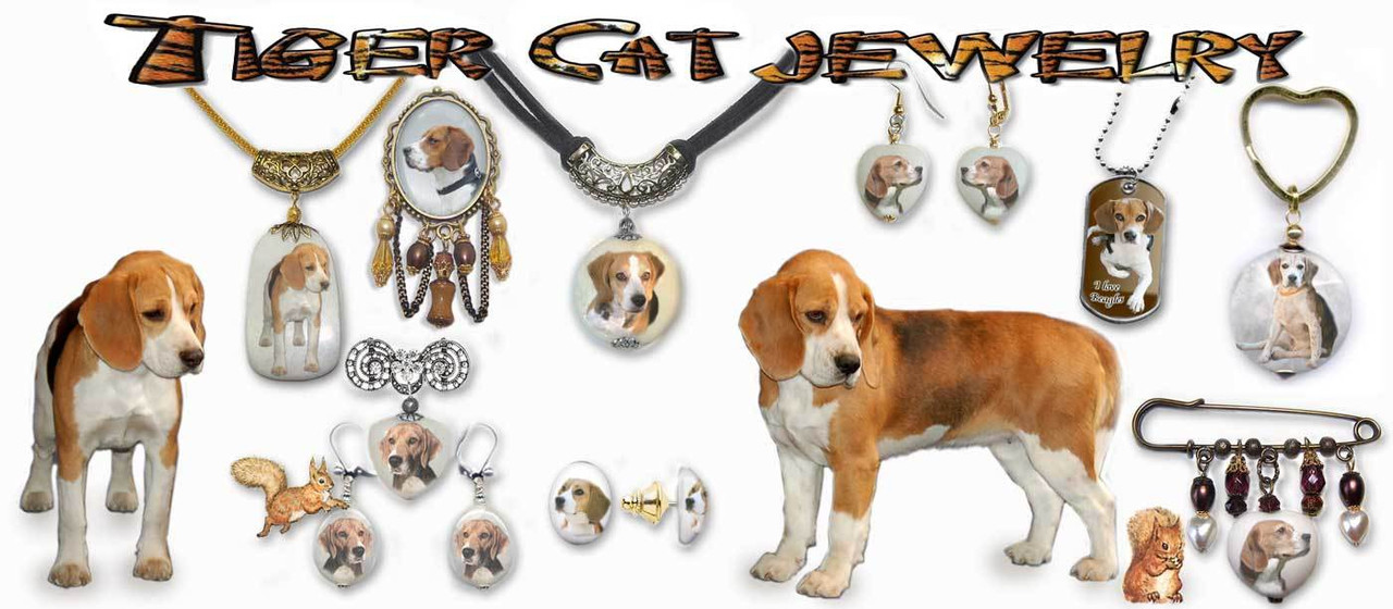 Beagle Dog Jewelry